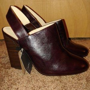 New Zara heeled booties